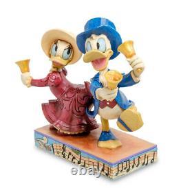 Enesco Disney Traditions Jim Shore 4051977 figurine Donald and Daisy Duck