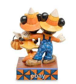 Enesco Disney Traditions Jim Shore 4057948 Figurine Mickey, Minnie Halloween