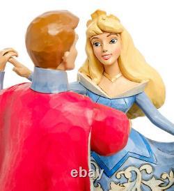 Enesco Disney Traditions Jim Shore 4059733 Figurine Aurora and Prince (Dance)