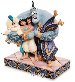 Enesco Disney Traditions Jim Shore 6005967 Figurine ALADDIN Group Hug