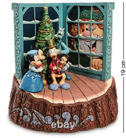 Enesco Disney Traditions Jim Shore 6007060 Composition Mickey's Christmas Carol