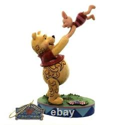 Enesco Disney Traditions Showcase collection Pooh Bear And Piglet