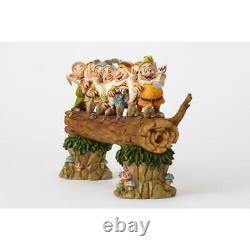 Enesco E1 Disney Traditions Jim Shore 8.2'' H Snow White Seven Dwarfs Figurine