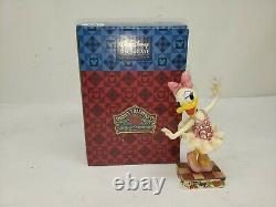 Enesco Jim Shore Disney Showcase 4016563 Daisy Duck as The Sugar Plum Fairy