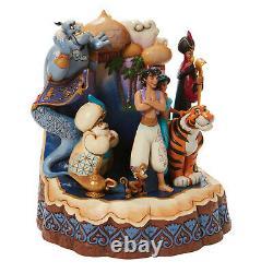 Enesco Jim Shore Disney Traditions Carved by Heart Aladdin NIB 6008999