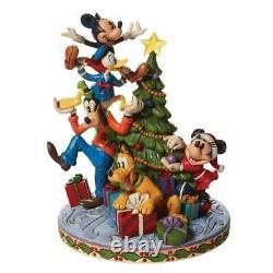 Enesco Jim Shore Disney Traditions Fab 5 Decorating Tree NIB 6008979