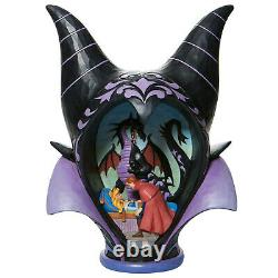 Enesco Jim Shore Disney Traditions Maleficent Headdress Scene NIB 6008996