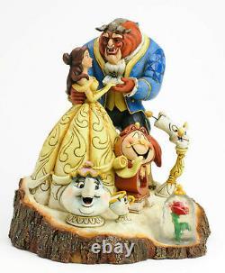 Enesco Jim Shore Disney Traditions Tale As Old As Time NIB 4031487