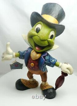 Figur Disney Enesco Traditions Shore 6005972 Pinocchio Jiminy Grille statement