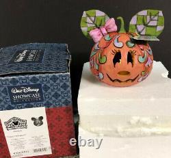 GREEN EARS Disney Jim Shore 4027939 Happy Halloween Minnie Mouse JOL PUMPKIN