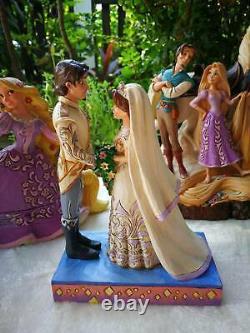 Im Shore Disney Traditions Princess and Prince Wedding Complete set of 5 NIB