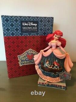 JIM SHORE DisneyShowcase Collection Twilight Serenade The Little Mermaid RARE