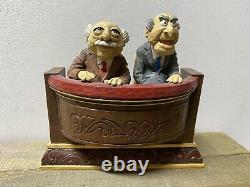 JIM SHORE Disney Muppet Show Waldorf & Statler Critical Curmudgeons #4020802