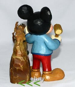 Jim Shore CELEBRATING 10 YEARS OF DISNEY TRADITIONS Mickey, 7 Dwarfs, 4046045