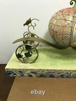 Jim Shore Cinderella An Enchanted Coach Awaits You Carriage Walt Disney Showcase