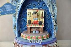 Jim Shore DREAMS COME TRUE Blue Fairy Disney Pinocchio 4010022 music & light