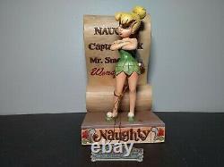 Jim Shore Disney Have You Been Naughty Or Nice Tinker Bell Figurine Nib 4013972
