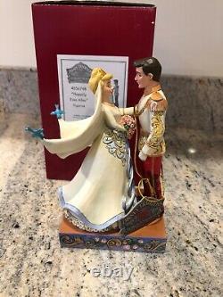 Jim Shore Disney Princess HAPPILY EVER AFTER Cinderella Prince Wedding 4056748