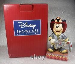Jim Shore Disney Showcase Enesco Mickey To The Rescue #4049632 NIB