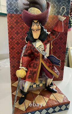 Jim Shore Disney Traditions Beware Captain Hook And Mr Smee (peter Pan)