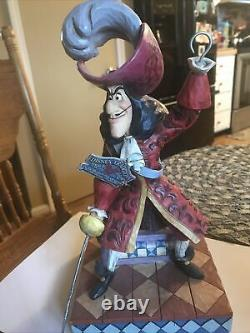 Jim Shore Disney Traditions Beware Captain Hook and Mr. Smee from Peter Pan