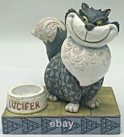 Jim Shore Disney Traditions Devious Lucifer Cat from Disney's Cinderella 4007214