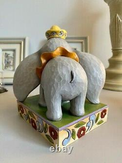 Jim Shore Disney Traditions Forever Together #4023533 Dumbo and Timothy RARE