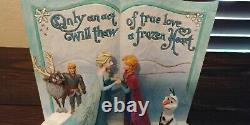 Jim Shore Disney Traditions Frozen Storybook Act True Love Jim Shore 4049644