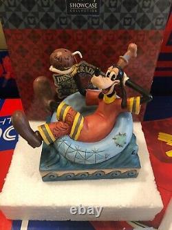Jim Shore Disney Traditions Goofy Hawaiian RARE Exotic Get Away Only one on EBAY