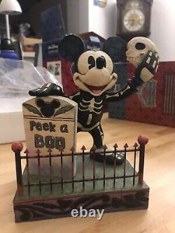 Jim Shore Disney Traditions Halloween Mickey & Minnie 3-Pack