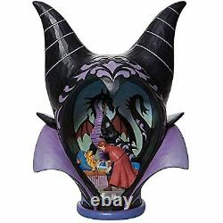 Jim Shore Disney Traditions Halloween Sleeping Beauty Maleficent Headdress