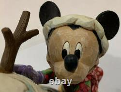 Jim Shore Disney Traditions Magic Comes in Many Shapes Mickey Minnie Pluto