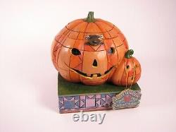 Jim Shore Disney Traditions Mickey Beware Of The Pumpkin Patch 4016580