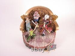 Jim Shore Disney Traditions Pan & Hook Daring Duel Carved by Heart RARE