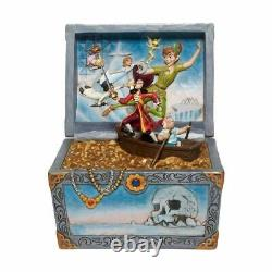 Jim Shore Disney Traditions Peter Pan Treasure Chest Scene 6008063