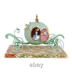Jim Shore Disney Traditions Pumpkin Coach with Cinderella Figurine 6007055
