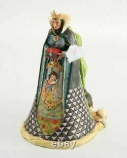 Jim Shore Disney Traditions Snow White Wicked (2 Sided Evil Queen/old Hag)