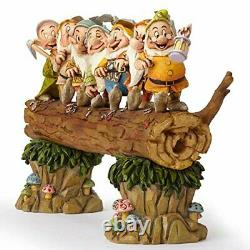 Jim Shore Disney Traditions Snow White and the Seven Dwarfs Heigh-ho 8 4005434