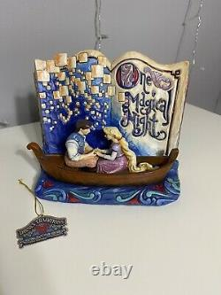 Jim Shore Disney traditions Tangled Book One Magical Night