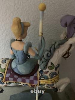Jim Shore Enesco Disney Traditions Princess of Dreams Carousel Horse Cinderella