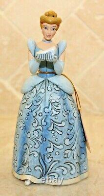 Jim Shore RARE Disney Cinderella Dreaming for Prince Sonata Musical 4020791 NIB