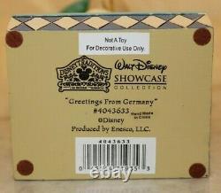 Jim Shore RARE Disney Mickey Mouse Around the World Greeting Germany 4043633 NIB