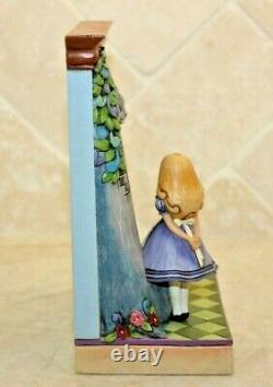 Jim Shore Retired Alice in Wonderland Which Way From Here 4013028