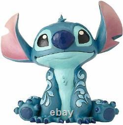 Jim Shore Stitch Big Trouble Figurine Disney Tradition 6000971 Big Fig -Statue