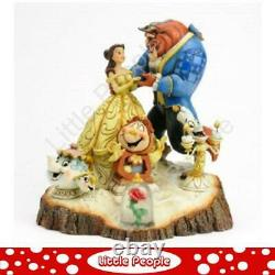 Jim Shore Tale Beauty And The Beast Figurine Disney Traditions