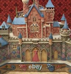 Jim Shore True Loves Castle Enesco Disney Traditions