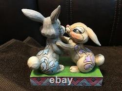 Jim Shore Twitterpation Thumper & Miss Bunny Figurine Disney Traditions-NEW