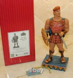 Jim Shore VERY RARE Hercules Mythic Hero 4055406 NIB