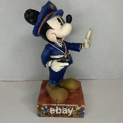 Jim Shore Walt Disney Traditions Mickey Mouse Protect & Serve #4007664 Enesco
