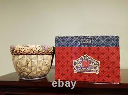 Jim Shore Walt Disney Traditions Mickey Mouse Round Planter Pot Very Rare